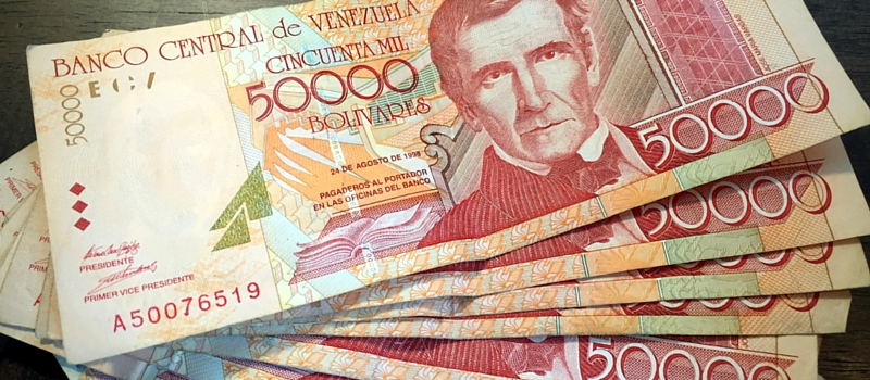 Venezuelan currency –investing in yourself as a writer
